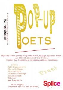 Pop-up Poets