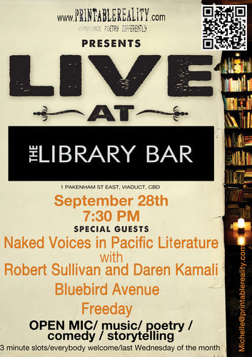 Live at The LIbrary Bar 28 sept 11