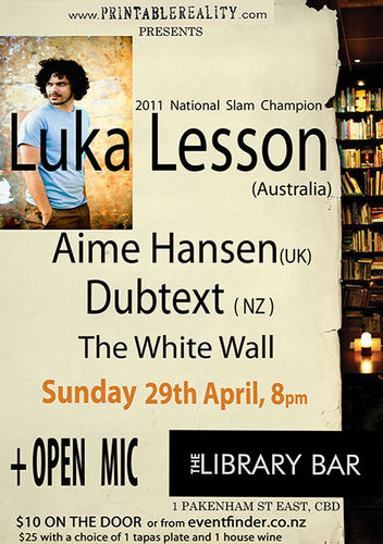 Luka Lesson - Live At the Library Bar