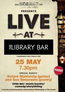 Live at The Library Bar 25 May 11