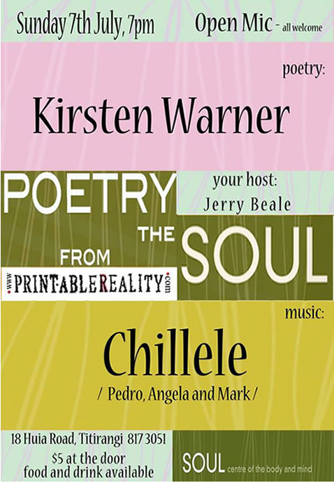 POETRY from the SOUL 7july