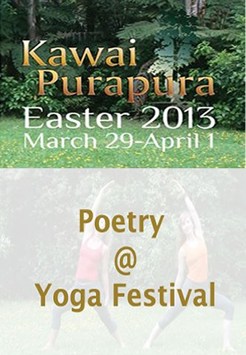 Poetry at Yoga Festival 2013