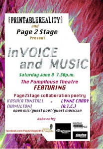 in VOICE and Music - PAGE2STAGE 2