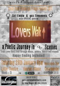 Lovers Walk - A Poetic Journey in Eight Scenes at Coromandel Town