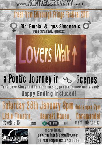 Lovers Walk - A Poetic Journey in Eight Scenes at Coromandel Town