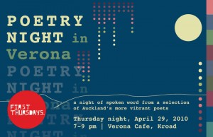 Poetry night in Verona